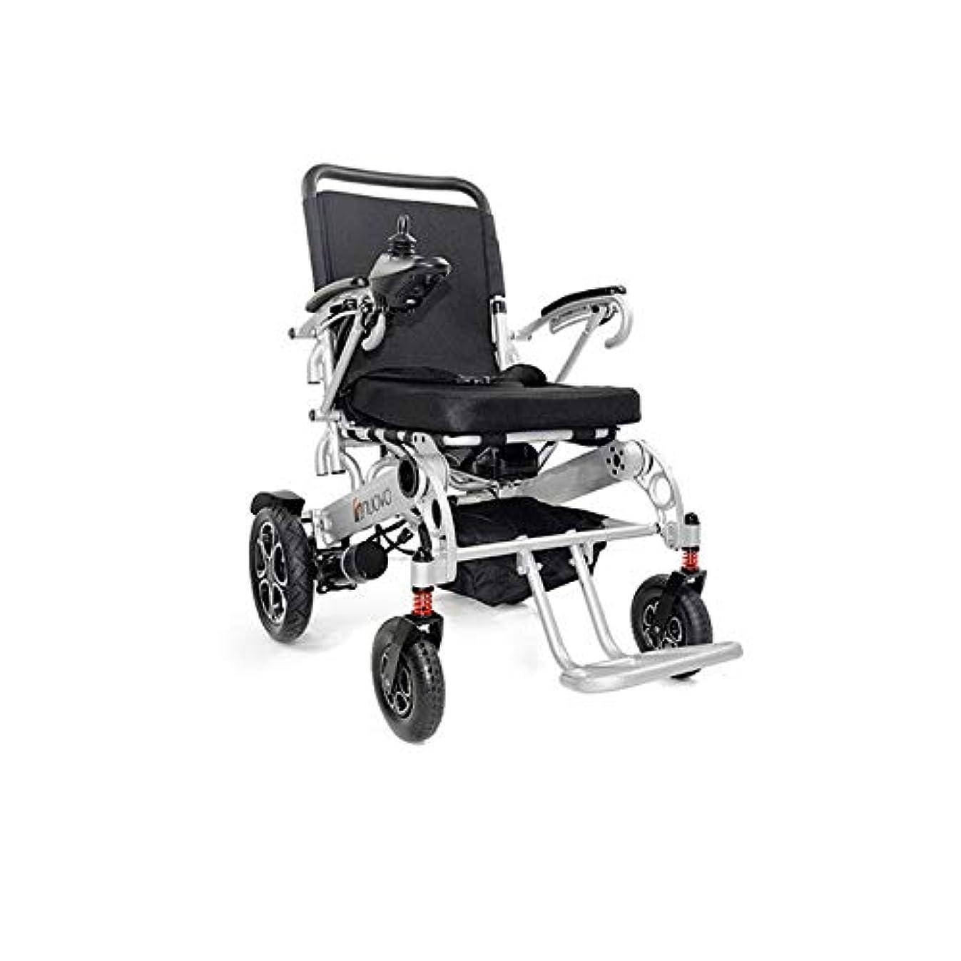 神子供達短くするエルダーのための軽量良質ビッグシート幅53Cm電動車椅子
