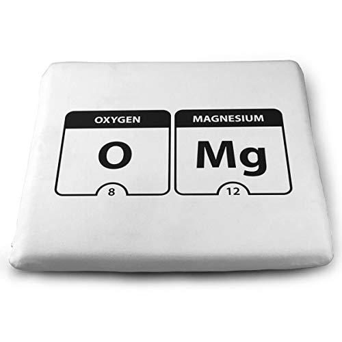 Memory Foam Pad zitkussen. Autostoel Kussens om hoogte te verhogen - bureaustoel Comfort Kussen - OMG Periodieke Tafel