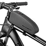 ROCKBROS(ロックブロス)トップチューブバッグ 防水 自転車 フレームバッグ ロードバイク 装着便利 小物収納 2つサイズ(S)