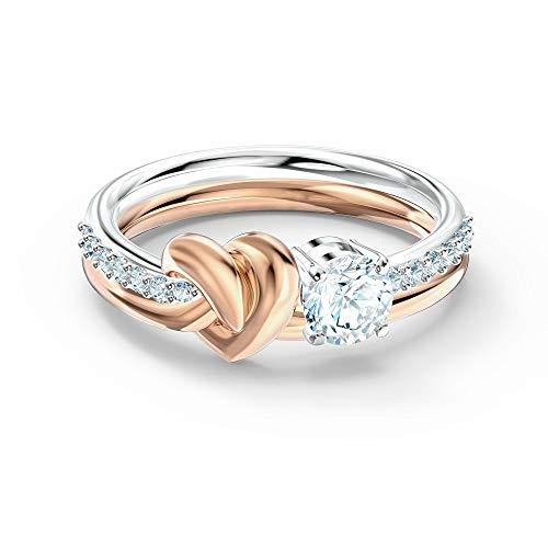 Swarovski Lifelong Heart Ring 6 UK White