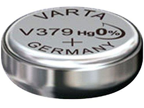 Varta V379silver-oxide 1.55V non-rechargeable battery–non-rechargeable Batteries (silver-oxide, Button/Coin, 1.55V, 1PC (S), 16mAh, Hg (Mercury))