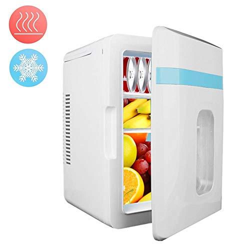 Yunhigh-uk 10L Mini kühlschrank für Auto und Zuhause, 12V-220V Kleiner Kühlschrank kühler Wärmer tragbar mit Zigarettenanzünder für Bürocampingpicknick, leistungsstarkes Kühl- und Heizsystem