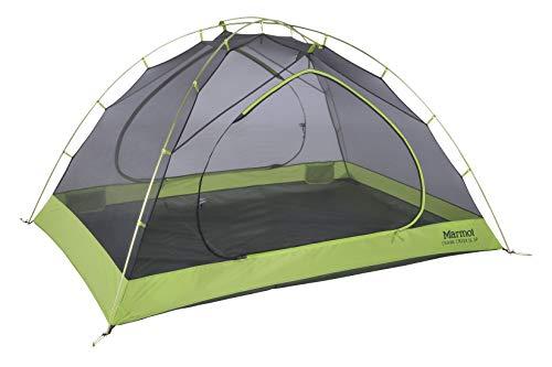 Marmot Crane Creek 3-Personen-Zelt, Ultraleicht, für Rucksackreisen und Camping, Aras, Grün/Krokodil