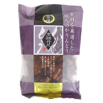 金崎製菓 匠の味 黒糖丹尺かりんとう 100g×6袋