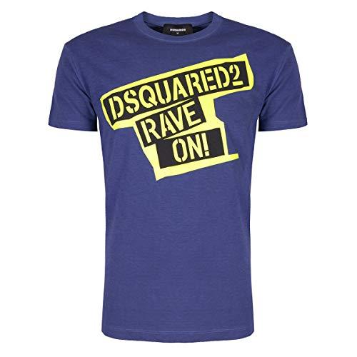 DSQUARED2 t-Shirt Blu Uomo XL