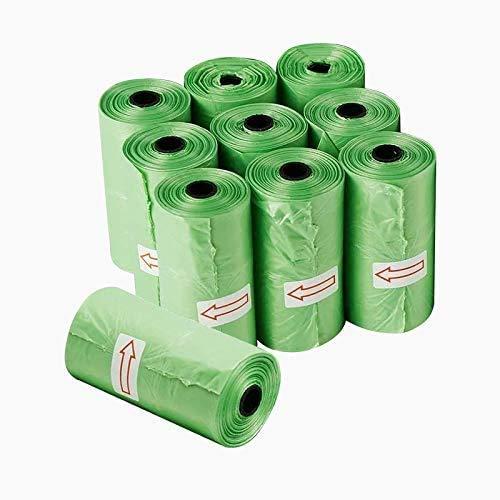 (50% OFF) 10 Pack Green Dog Poop Bag Rolls $5.99 – Coupon Code