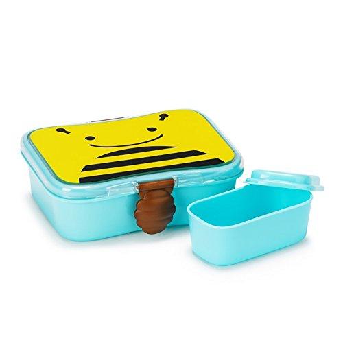 Skip Hop Zoo Lunch-/Frühstücksdose, mit Deckel, Aufbewahrung, für Kinder, mehrfarbig, Biene Brooklyn