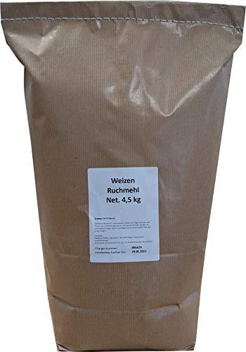 4,5 kg Weizen - Ruchmehl