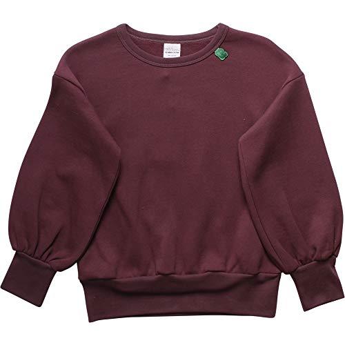 Fred'S World By Green Cotton Sweat-Shirt, Violet (Plum Purple 019231101), 92 Bébé Fille