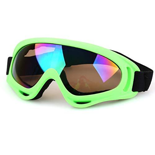 zxbm Gafas de esquí para Hombres y Mujeres, Impermeables, a Prueba de rayones, a Prueba de Rayos UV, aptas para esquí, Motocicletas, etc.