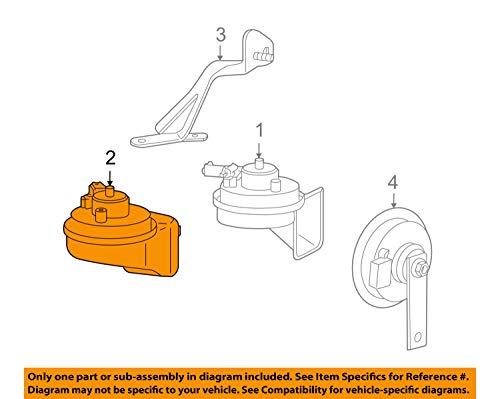 997-635-205-04 2005-2013 Porsche 911 Low Note Horn