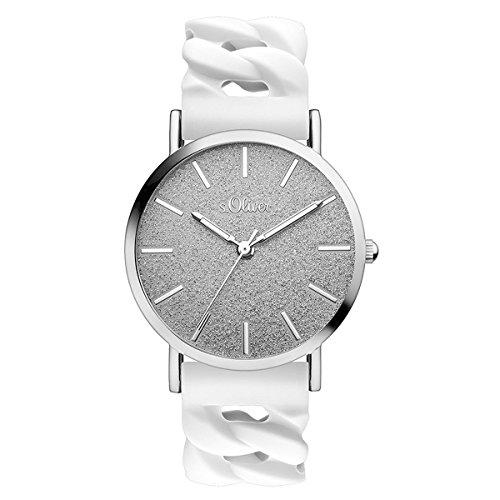 s.Oliver Time Unisex Erwachsene-Armbanduhr SO-3397-PQ