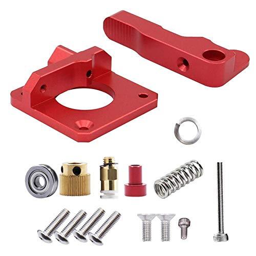Creality 3D estrusore Bowden in alluminio per stampante 3D, kit di sostituzione avanzamento drive aggiornato, 1,75 mm metallo estrusore stampante 3D