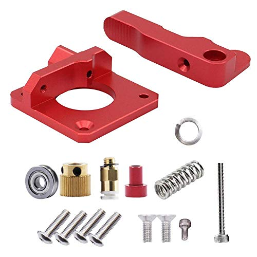 Creality 3D Aluminum Bowden Extruder for 3D Printer, Upgraded Drive Feed Replacement Kit, 1.75mm Metal 3D Printer Extruder for CR-10 Series. Ender's Series