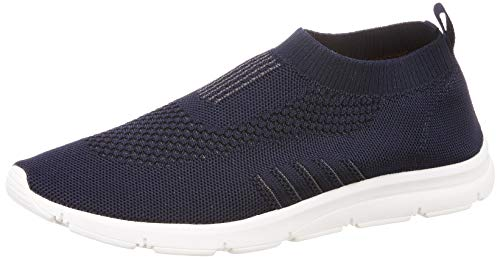 Bourge Men's Vega-5 Navy Running Shoes-8 UK (42 EU) (9 US) (Vega-5-08)