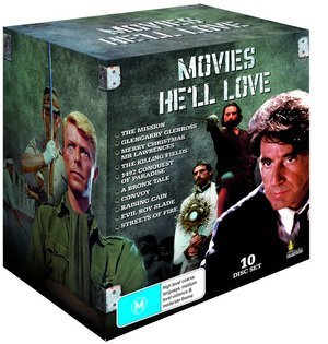 Movies He'll Love - Collection - 10-DVD Box Set ( The Mission / The Killing Fields / Streets of Fire / A Bronx Tale / Glengarry Glen Ross / [ Origen Australiano, Ningun Idioma Espanol ]