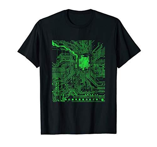 Prozessor CPU Herz Gamer Nerds Geeks Informatiker Geschenk T-Shirt