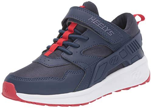 Heelys Boys' Force X2 Tennis Shoe, Navy/RED, 12c M US Little Kid