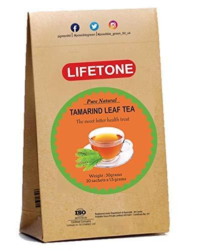 Tamarind Leaf Tea|Delicious antioxidant Tropical Tea|100% Pure herb|Ayurveda Stress Relief|20 Teabags