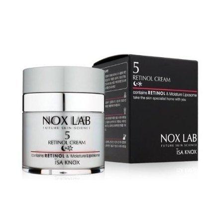 Isa Knox Max 88% OFF Manufacturer regenerated product Nox Lab Retinol Cream moisturizin anti-wrinkle 50ml