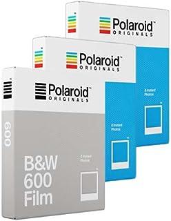 Polaroid Originals film – trippelpaket – 2 x färgfilm 1 x B&W film