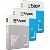 Polaroid Originals - Película de colores (2 unidades, 1 lámina B&W)