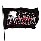 Metal Clothing Mulisha American Flag Welcome Garden Flags Banners House Outdoor Decorations 3x5 Foot