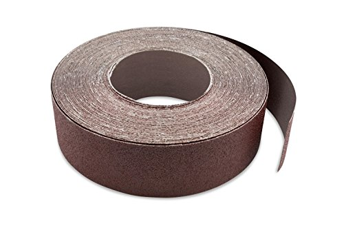 Red Label Abrasives 3 Inch X 70 FT 80 Grit Woodworking Drum Sander Strip Roll, Cut to Length