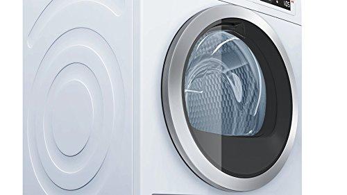 Bosch WTW875W0 Serie 8 Wärmepumpentrockner mit Glastür / Energieeffizienz A+++ / 176 kWh/Jahr / 8 kg / weiß / Edelstahltrommel / EcoSilence Drive - 5