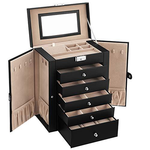 SONGMICS 6 Tier Jewelry Box with...