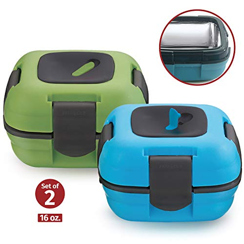 Buy Lunch Box ~ Pinnacle Insulated Leak Proof Lunch Box for Adults and Kids - Thermal Lunch Containe...
