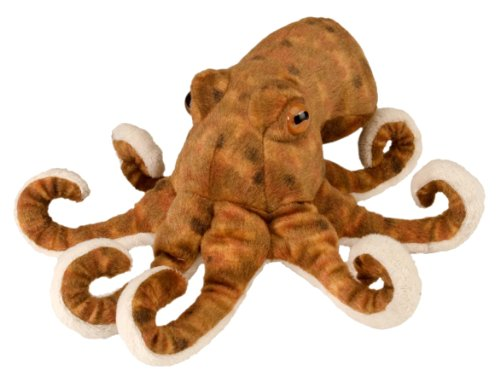 Wild Republic- Octopus CK Mini Pulpo de Peluche, 20 cm (