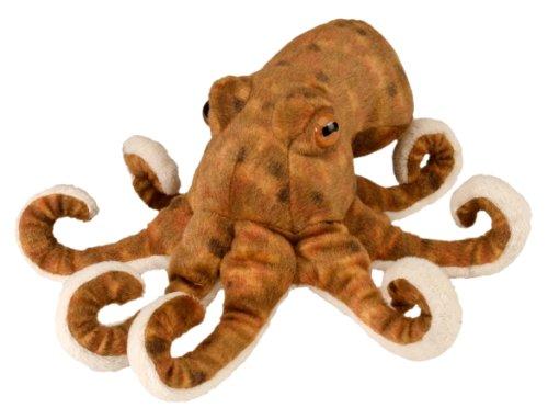 Wild Republic Oktopo, Cuddlekins Mini coccolone Peluche, Regali per Bambini 20 cm, Multicolore, 10872