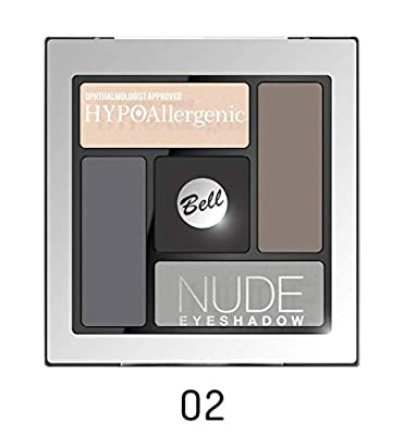Augen-Make-up-Palette Nude hypoallergen