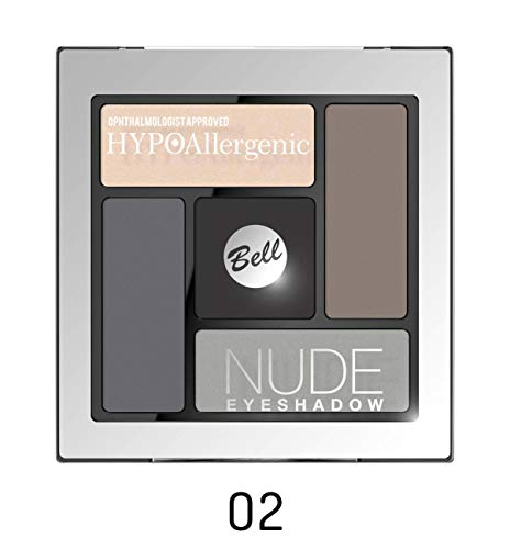 Bell Hypoallergenic Nude Eye Shadow Palette No. 02 Ophthalmologis
