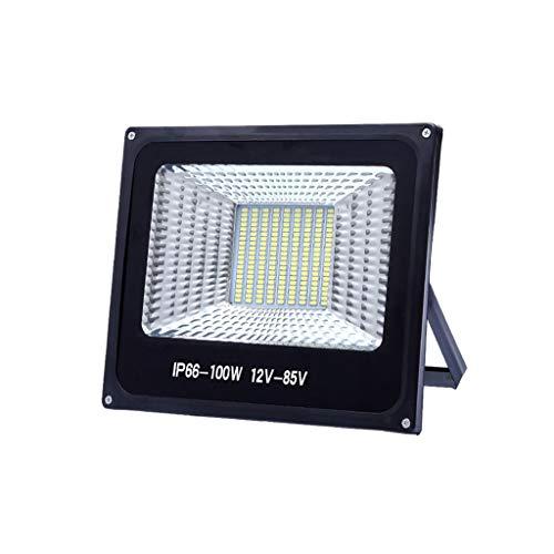WKZ-52 Foco LED Proyector, Luz De Seguridad De La Luz De Trabajo Impermeable Al Aire Libre, Mercado Nocturno Universal Marino De Baja Tensión 12V-85V (Color : 200W, Size : 2.7M Wire Plug)