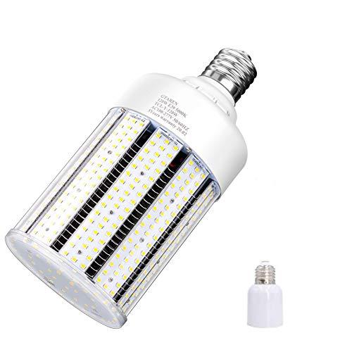 100W LED Corn Cob Light Bulb,Replace for 400 Watt Metal Halide HPS Mercury Vapor CFL HID lamp,5000K E39 Mogul Base,for Commercial and Industrial Lighting Bay Light Fixture Warehouse Workshop Gyms