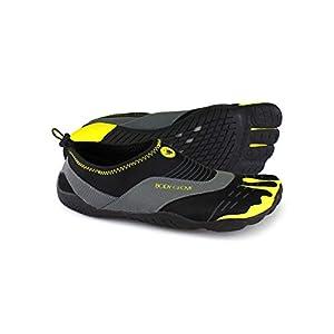 Body Glove Men's 3t Cinch-m Water Shoe, Black/Yellow, 11