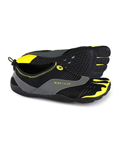 Body Glove Men's 3t Cinch-m Water Shoe, Black/Yellow, 10