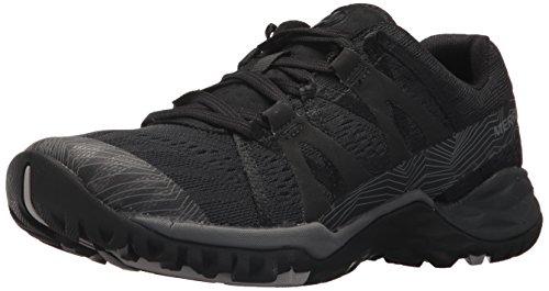 Merrell Women's Siren Hex Q2 E-Mesh Hiking Boot, Super Black, 8 Medium US