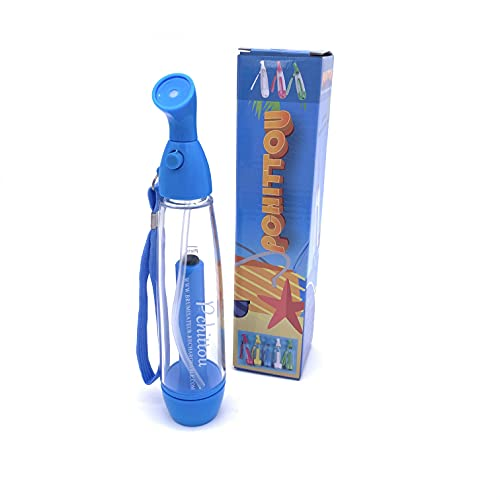 Brumisateur Rechargeable Pchittou® Bleu 75ml | Pompe Manuelle | Spray Air Cooler