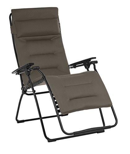 Lafuma LFM3114 Futura XL, Air Comfort, Taupe, 90x76x125 cm