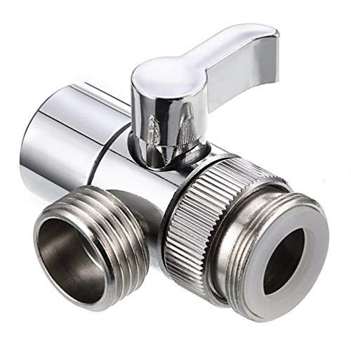 Hemoton 3-Wege-Duscharmumlenker für Handbrause (Silber)