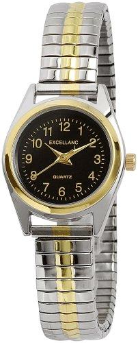 Excellanc Damen-Uhren mit Metallzugband, Größe: XL 170011000009