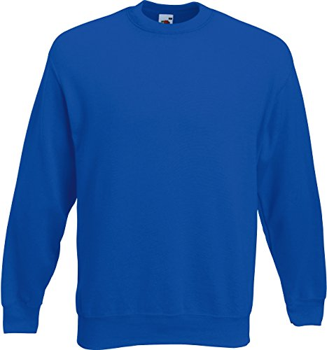 Fruit of the Loom - Set-In Sweat - Royal - L L,Royal