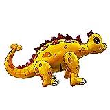 Inflatable Dinosaur Animal Balloons for Birthday Party Shower (Ankylosaurus yellow)