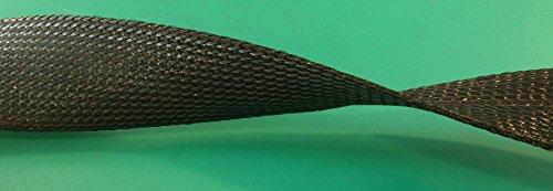 5Meter Socke Polyester Erweiterbar Schwarz Durchmesser 50mm schützt und sammelt die Kabel