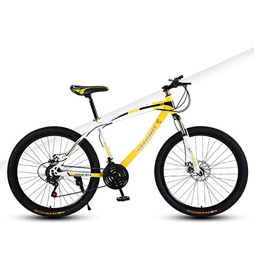 Kids Bike, Mountain Bike, Dual Disc Brake Speed Boys And Girls Bicycle, 24 Inch Youth Cycling Adult...