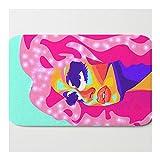 Alfombra de baño Queen Trixie Mattel Alfombras para baño, antideslizante y absorbente, 40 x 60 cm