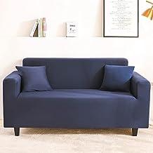 Housse de canapé modulaire d'impression de Soie de Lait de Style Nordique, Housse de canapé Tout Compris antidérapante Uni...